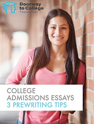 College Admissions Essays